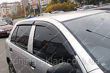 Вітровики вікон Шкода Фабія 1 (дефлектори бокових вікон Skoda Fabia 1)