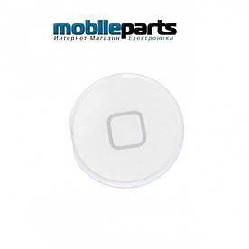 Оригинальная Кнопка Домой (home button) для Apple iPad 4 (Белый)