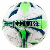 Мяч футбольный Joma бело-зеленый