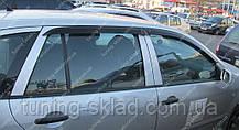 Вітровики вікон Шкода Фабія 2 Комбі (дефлектори бокових вікон Skoda Fabia 2 Combi)