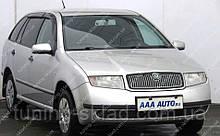 Вітровики вікон Шкода Фабія 1 Комбі (дефлектори бокових вікон Skoda Fabia 1 Wagon)