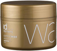 Воск для надежной укладки id Hair Elements Gold Control Wax Strong Hold, 100 ml