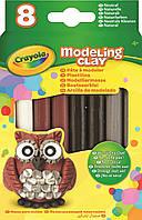 Пластилин Crayola натуральный 8 Natural Modeling Clay
