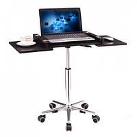 Стол для ноутбука передвижной SW-38 Черный графит