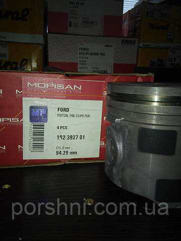 Поршневая  93.67 + 0.65  Transit  2.5 TD          2.5 x 2 x 4   Mopisan / Mopart 392701