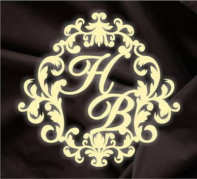 Монограмма свадебная, герб молодоженов 3