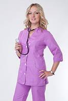 Сиреневый женский медицинский костюм. Опт и розница