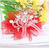 Дитяча заколка - корона для волосся фатин крокодил Тіара Вікторія дитячі прикраси, фото 3