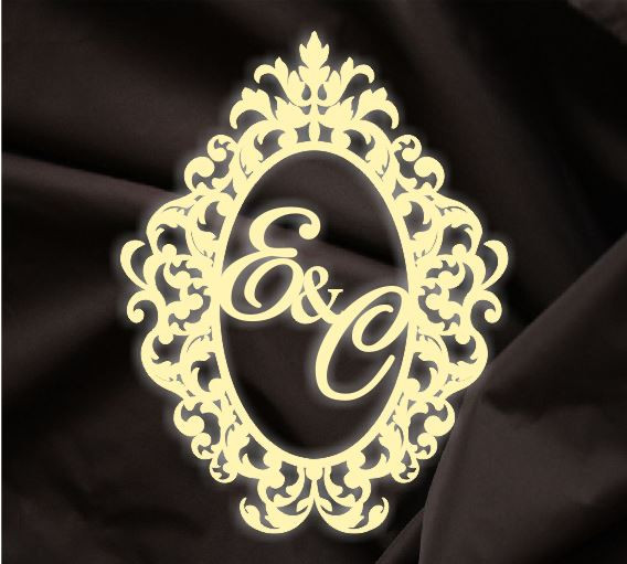 Монограмма свадебная, герб молодоженов 4