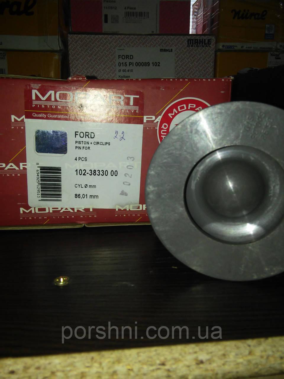 Поршневая  Тransit  V347 2.2 DURA  2006 - 130PS ( 2 x 2 x 2 ) 86STD  Mopart 3833000