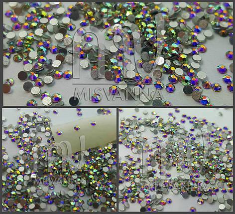 Камни Lilly Beaute аналог Сваровских размер SS3 1440 шт. белый хамелеон, фото 2