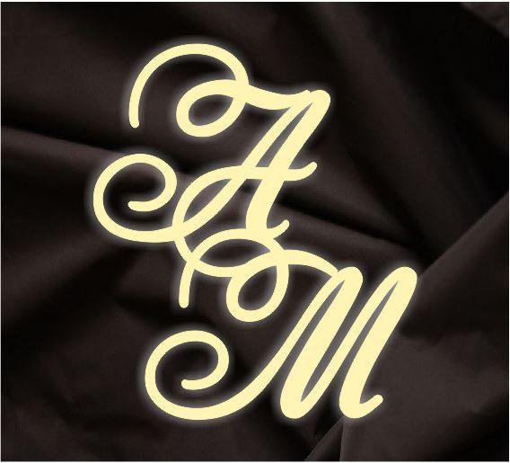 Монограмма свадебная, герб молодоженов 8