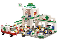 Конструктор Sluban Городская серия: Станция скорой медицинской помощи, 376 дет M38-B5600