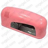 UV-лампа для геля, гель-лака 9 Вт (белая, персиковая)