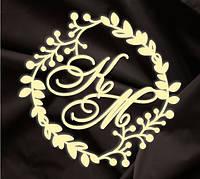 Монограмма свадебная, герб молодоженов 13