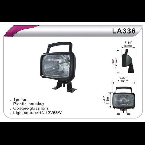Фара - прожектор LA-336 White (1шт), фото 2