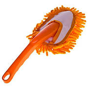 Щетка для сметания пыли малая (оранжевая)