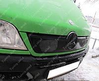 Зимняя накладка на решетку радиатора Мерседес Спринтер СДИ (заглушка решетки Mercedes Sprinter CDI)