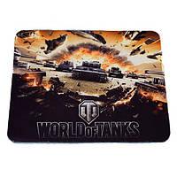 Коврик для мышки №3 World of Tanks, коврик для лазерной и оптической мыши