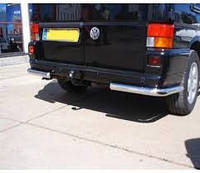 Защита заднего бампера Volkswagen Transporter T 4, фото 1