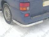 Защита заднего бампера Volkswagen Transporter T 4, фото 2