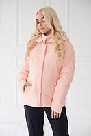 Короткая демисезонная куртка в 3х цветах Ромб