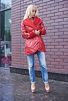 Куртка из высококачественной эко кожи в 3х цветах