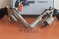 "Револьвер под патрон Флобера PROFI-3"" сатин/пласт"