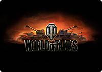 Коврик для компьютерной мышки №4 World of Tanks, прямоугольный игровой коврик