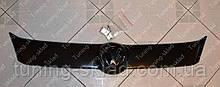 Зимняя накладка на решетку радиатора Фольксваген Кадди 2010 (заглушка решетки Volkswagen Caddy III)