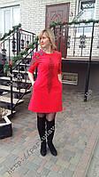 Платье женское с вышивкой СЖ 181-19