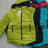 Подростковая весенняя куртка на девочку  VD Fashion