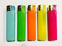 Зажигалка пьезо реклама цветная xFox