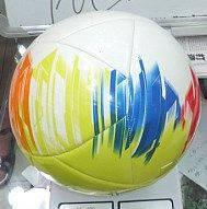 Мяч футбольный bt-fb-0137 pvc 320 гр для спортивной игры