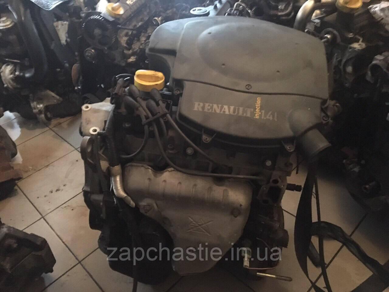 Двигун Рено Кенго 1.4 б E7J 8V