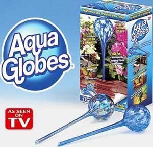 Аква Глоб (Aqua Globes) — шары для полива растений - Афродита в Киеве