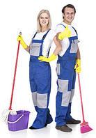 Полукомбинезон для клининга, рабочая одежда, униформа
