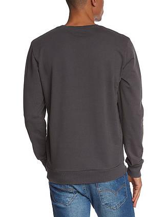 Свитшот мужской темно-серый с принтом от Solid (Дания) в размере L 50/52, фото 2