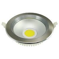 Светодиодный светильник Horoz (HL6978L) 30W 4200K кругл. мат. хром (потолочный) Код.55368