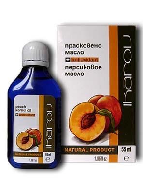 Персиковое масло чистое 55 мл Икаров