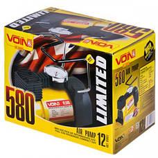 Компрессор VOIN VL-580 150psi/15Amp/38л/прикур./переходник на клеммы, фото 3