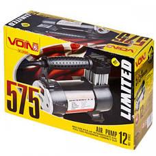 Компрессор VOIN VL-575 150psi, 15A, 40л, прикуриватель, фонарь (VL-575), фото 2