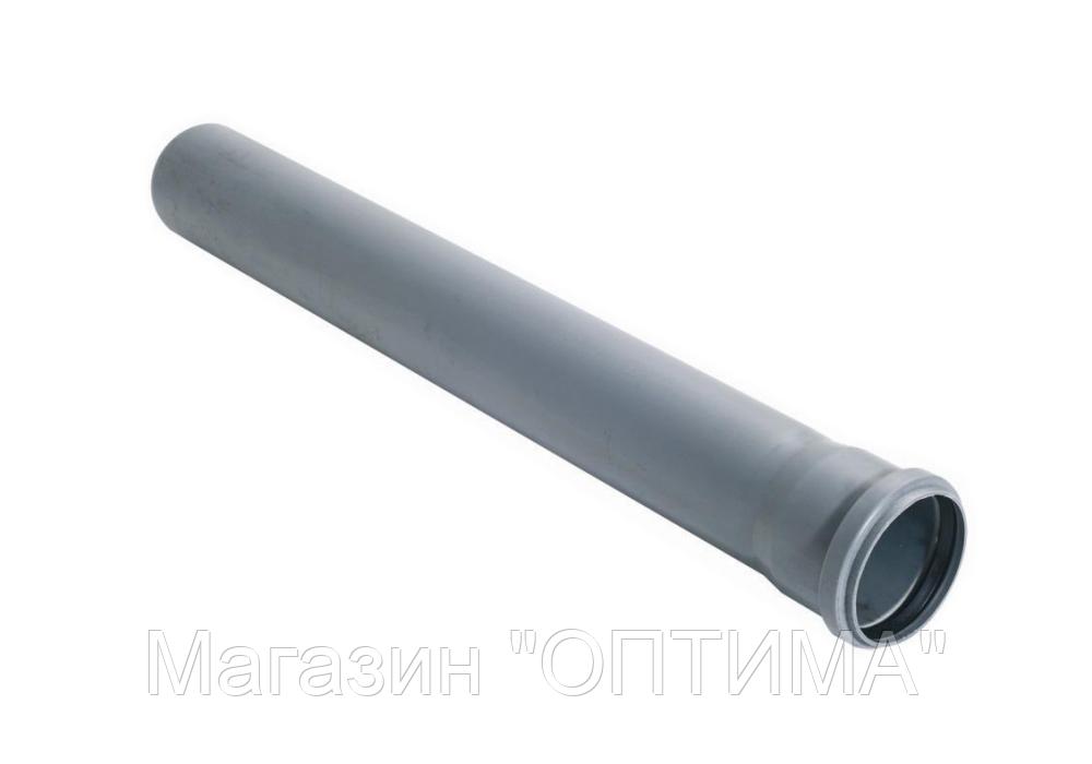Труба каналізаційна ПП, d-50 мм, L-2000 мм