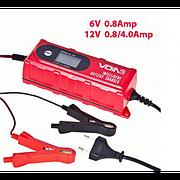 Зарядное устр-во VOIN VL-143 6-12V/0.8-4.0A/1.2-120AHR/LCD/Импульсное