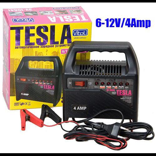 Зарядное устр-во TESLA ЗУ-10641 6-12V/4A/10-60AHR/светодиодн.индик.