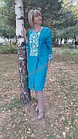 Платье женское с вышивкой СЖ 71-10