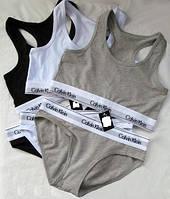 Комплект женского белья топ + плавки Calvin Klein