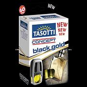 "Освежитель воздуха Tasotti на дефлектор ""Concept"" Black Gold-Perfume 8ml"