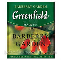 """Чай черный в пакетиках  Greenfield """"Barberry Garden"""" 100шт Барбарис"""