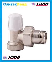 Кран радиаторный нижний угловой 3/4 ICMA 805